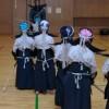 Prima grupă de Kendō pentru copii la Clubul Sam-Sho