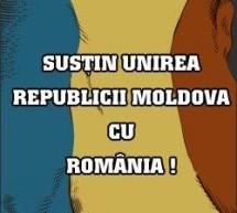 Organizaţii non-guvernamentale susţin unirea Republicii Moldova cu România