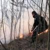 MEDIU / Incendiu de vegetaţie uscată în Parcul Natural Bucegi