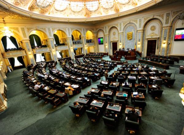 POLITICĂ / Moțiunea Căldura care îngheaţă România: regimul Băsescu-Boc a fost respinsă