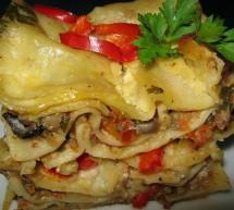 GASTRONOMIE / Lasagna cu ciuperci