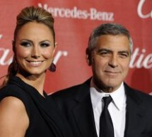 SHOWBIZ / Iubita lui George Clooney apărată de gardă de corp