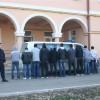 Zece imigranti prinsi la frontiera cu Serbia