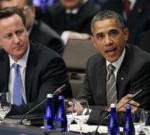 Obama si Cameron au discutat despre criza din Europa si summitul G20
