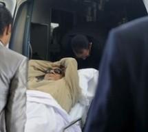 Hosni Mubarak conectat la aparatele de respiratie artificiala