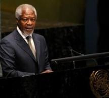 Kofi Annan cere din nou intensificarea presiunilor asupra Siriei