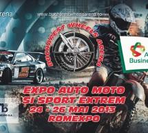 Festivalul auto-moto/sporturi extreme din Romania – Bucharest Wheels Arena, la cea de-a doua editie