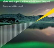 Top 10 riscuri si oportunitati pentru companiile de energie si utilitati in 2013