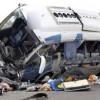 Accident de autocar in  Spania, soldat cu 9 morti si 22 de raniti. Printre victime, o romanca.