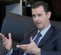 Bashar al-Assad: Siria se va apara impotriva oricarei agresiuni