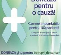 Camere implantabile pentru 100 de bolnavi de cancer