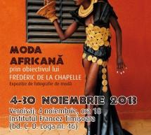 Moda africana prin obiectivul lui Frédéric de la Chapelle