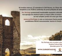 Lansarea proiectului OurHeritage