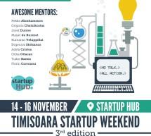 Startup Weekend Timișoara III: un weekend pentru a lansa o afacere în IT