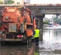 Cantitati record de precipitatii in canalizare, nu si pe factura de apa