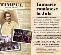 """Ianuarie romanesc la Gyula (Ungaria)"""