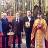 """Consulul general Florin Vasiloni in vizita la Biserica """"Biserica lui Saguna"""" din Miskolc"""