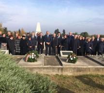 """Eroii români, comemoraţi de """"Ziua morţilor"""" în Ungaria – Ceremonii la Micherechi, Sarkad şi Gyula"""