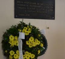 Placă comemorativă la Gyula