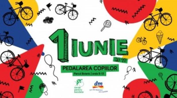Pedalarea copiilor – 1 iunie – Verde pentru biciclete