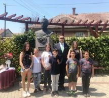 Poetul Mihai Eminescu comemorat la Apateu, în Ungaria