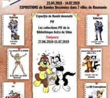 Expoziție de benzi desenate francofone