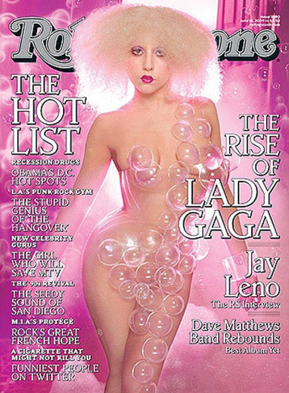 Lady GaGa на обложке Rolling Stone.