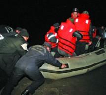 Alergat cu barca pe baraj