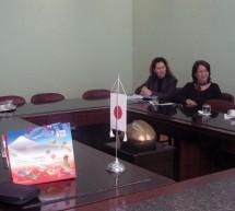 Japonezul Natsuo Amemiya a dialogat cu timișoreanul Gheorghe Ciuhandu