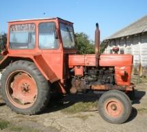 Ţeavă de gaz metan furată cu tractorul la Lovrin
