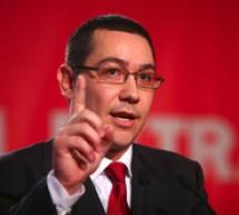 Victor Ponta: Vom cere demisia ministrului Dezvoltării şi Turismului!