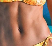 Evită îngrăşarea în regiunea abdominală