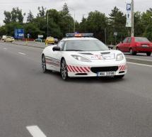Poliția rutieră are cea mai tare mașină