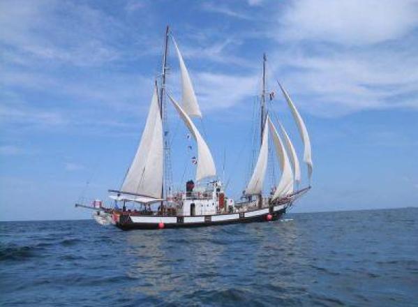 TURISM / Corabia Speranța are o nouă replică, Goeleta Marea, în portul Mangalia