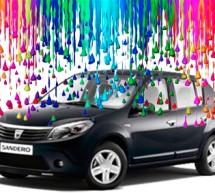 AUTO / Renault pregătește culori vii pentru automobilele Dacia