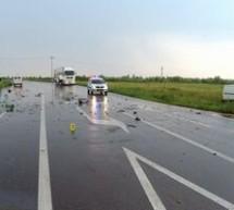 SOCIAL / Două persoane rănite într-un accident pe Centura de Est a Ploieştiului