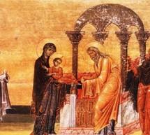 RELIGIE/ÎNTÂMPINAREA DOMNULUI NOSTRU IISUS HRISTOS