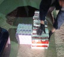 FLAGRANT / Aproape 900 de pachete de ţigări confiscate în Caraş-Severin