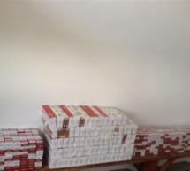Captura de aproape 1500 de pachete de tigari la vama Cenad