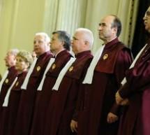 ANI a decis ca judecatorii CCR Augustin Zegrean si Iulia Motoc nu se afla in incompatibilitate