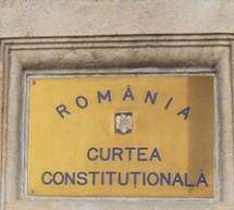 CCR dezbate miercuri sesizarea presedintelui Basescu in legatura cu reprezentarea la Consiliul European