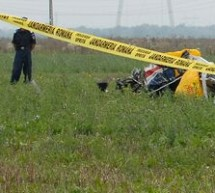 Pilotul avionului prabusit la Baneasti a fost gasit carbonizat