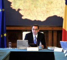 Premierul Victor Ponta va efectua joi si vineri o vizita la Bruxelles
