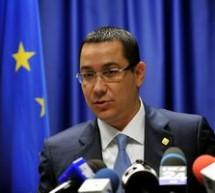 Premierul Ponta: Am cerut pana joi mandat de la presedintele Basescu