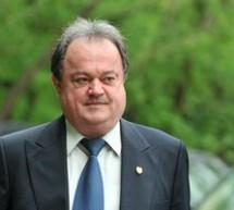 Vasile Blaga isi va depune joi moţiunea pentru sefia PDL