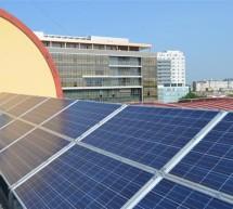 Aquatim si-a instalat o centrala fotovoltaica pe acoperisul sediului
