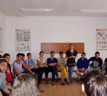Consiliul Judeţean al Elevilor Timiş, în vizită la Centrul de Reeducare Buziaş