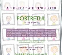 Portretul – atelier de creatie pentru copii