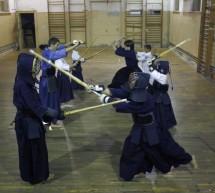 Demo Kendo&origami cu juniorii Clubului Sam-Sho Timisoara, la Mall