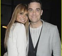Robbie Williams, un tatic fericit
